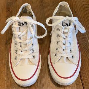 Converse Chuck Taylors White Women's 7